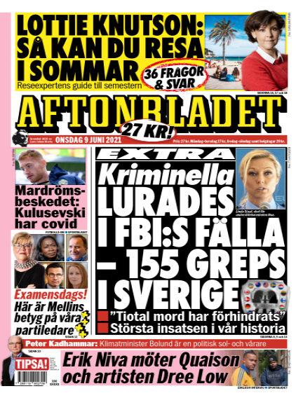 Aftonbladet June 09, 2021 00:00