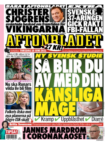 Aftonbladet June 10, 2021 00:00