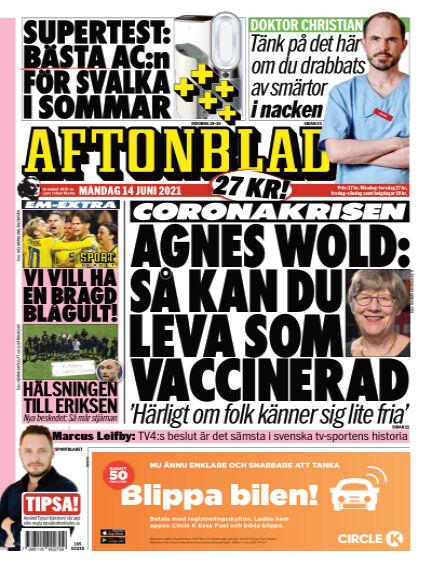 Aftonbladet June 14, 2021 00:00