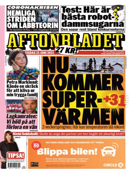 Aftonbladet June 15, 2021 00:00