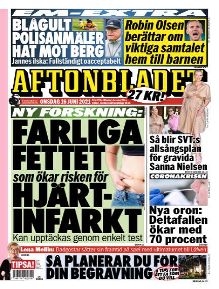 Aftonbladet June 16, 2021 00:00