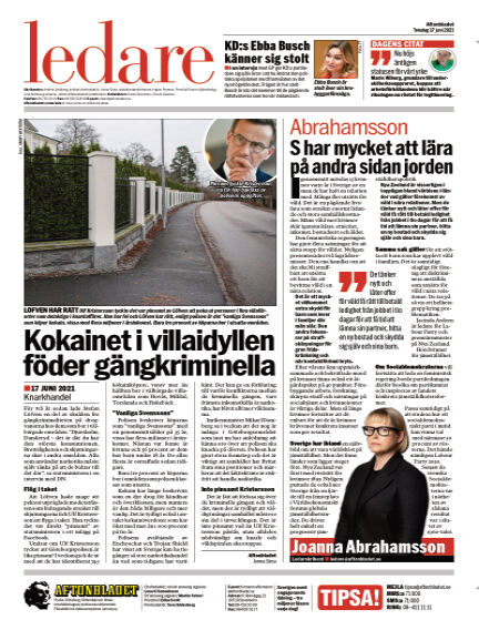 Aftonbladet June 17, 2021 00:00