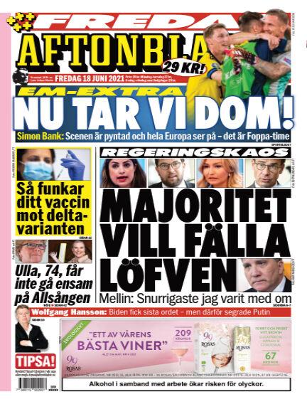 Aftonbladet June 18, 2021 00:00