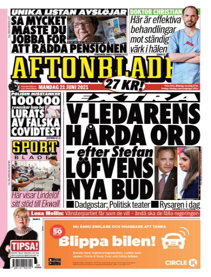 Aftonbladet June 21, 2021 00:00