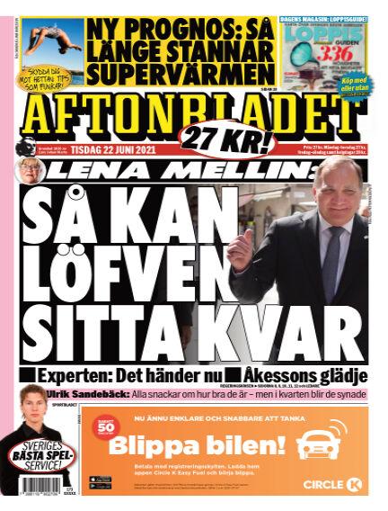 Aftonbladet June 22, 2021 00:00