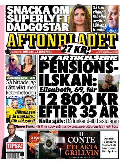 Aftonbladet June 23, 2021 00:00