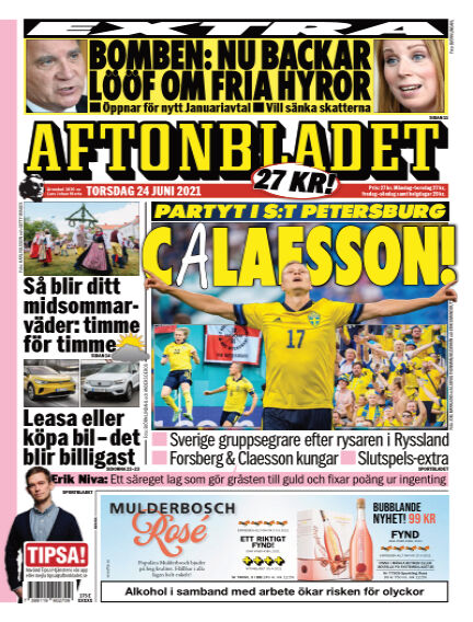 Aftonbladet June 24, 2021 00:00