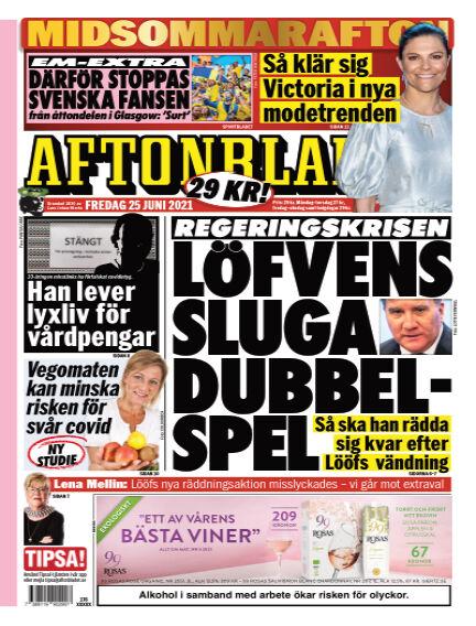 Aftonbladet June 25, 2021 00:00