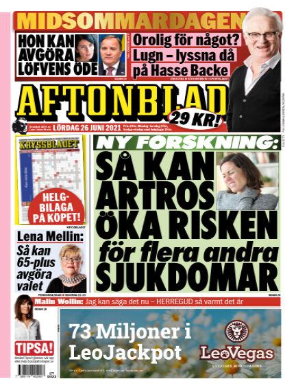 Aftonbladet June 26, 2021 00:00