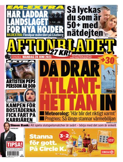 Aftonbladet June 28, 2021 00:00