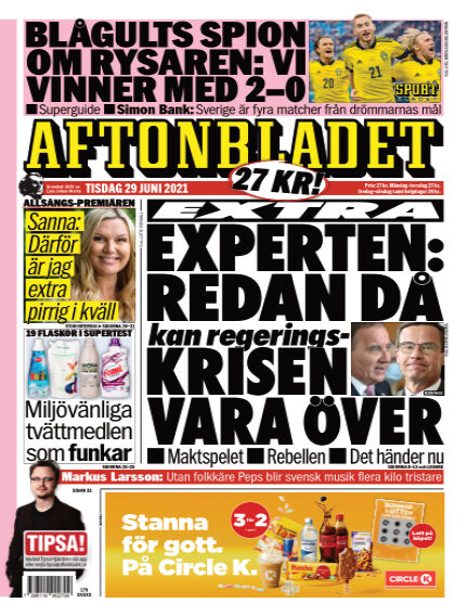 Aftonbladet June 29, 2021 00:00