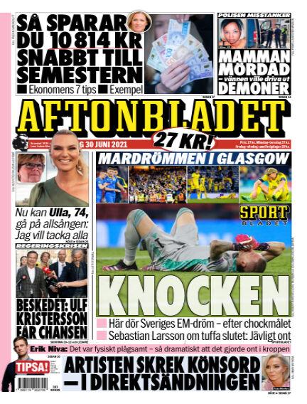Aftonbladet June 30, 2021 00:00