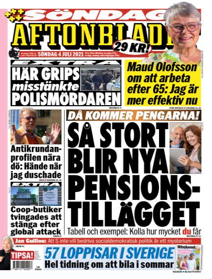 Aftonbladet July 04, 2021 00:00