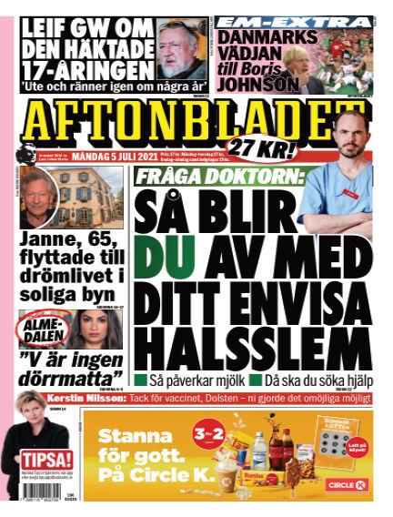 Aftonbladet July 05, 2021 00:00