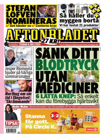 Aftonbladet July 06, 2021 00:00