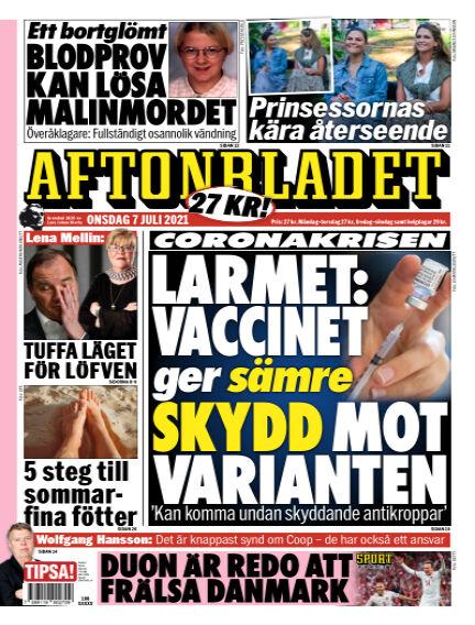 Aftonbladet July 07, 2021 00:00