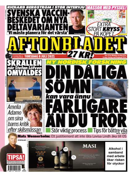 Aftonbladet July 08, 2021 00:00