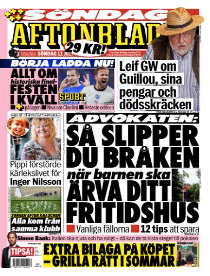 Aftonbladet July 11, 2021 00:00