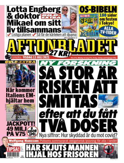 Aftonbladet July 13, 2021 00:00