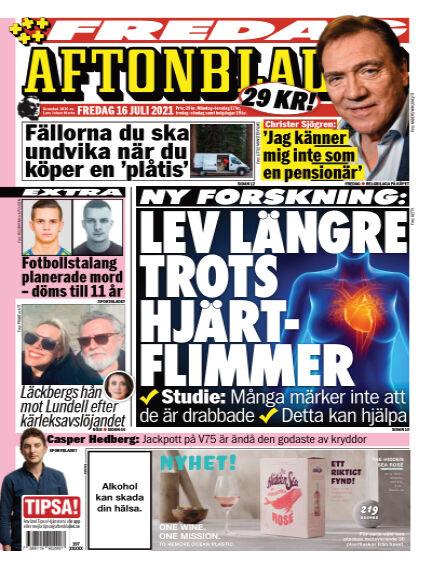 Aftonbladet July 16, 2021 00:00