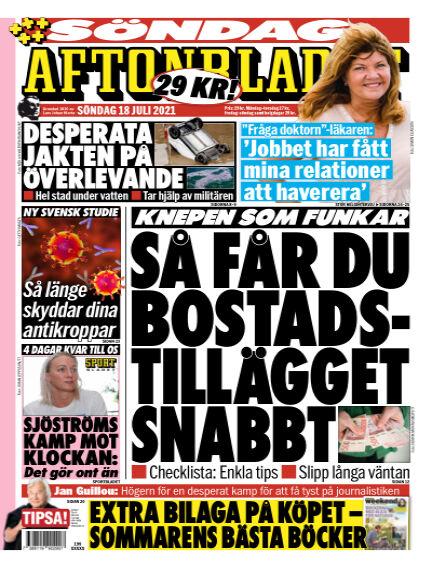Aftonbladet July 18, 2021 00:00