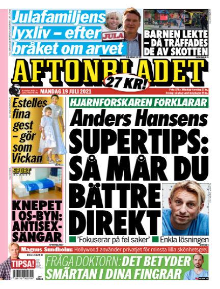 Aftonbladet July 19, 2021 00:00