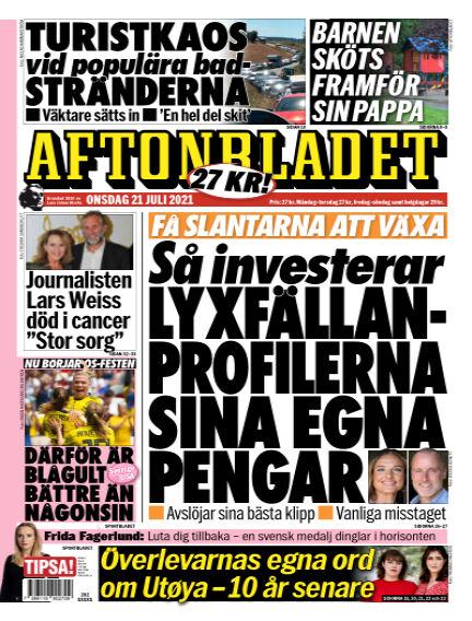 Aftonbladet July 21, 2021 00:00