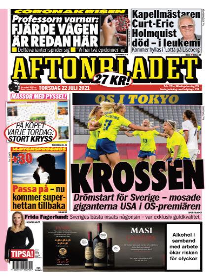 Aftonbladet July 22, 2021 00:00