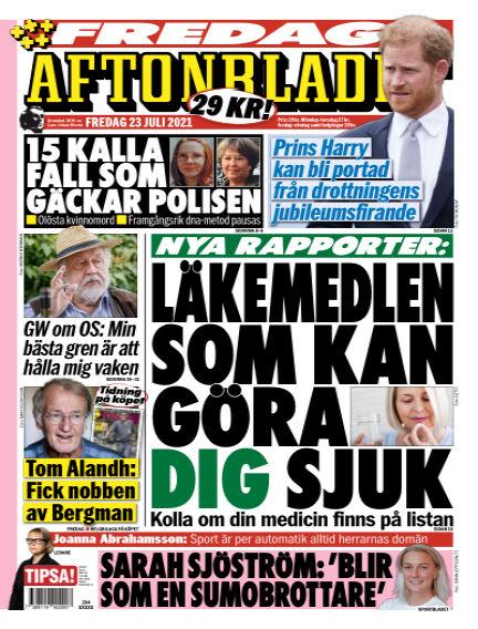 Aftonbladet July 23, 2021 00:00