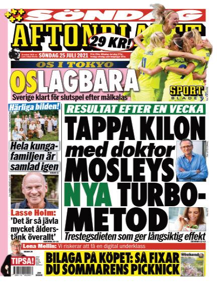 Aftonbladet July 25, 2021 00:00