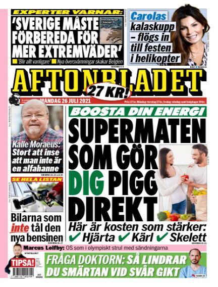 Aftonbladet July 26, 2021 00:00