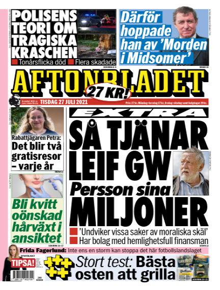 Aftonbladet July 27, 2021 00:00