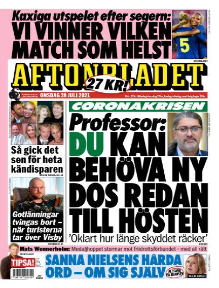 Aftonbladet July 28, 2021 00:00
