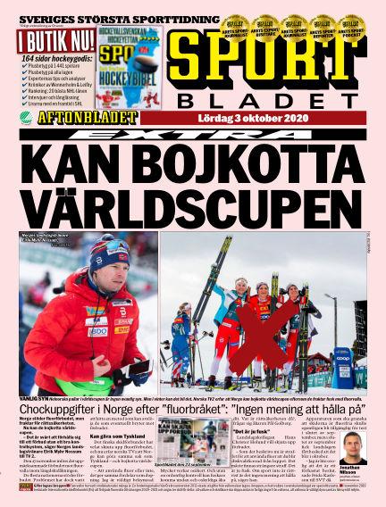 Sportbladet October 03, 2020 00:00