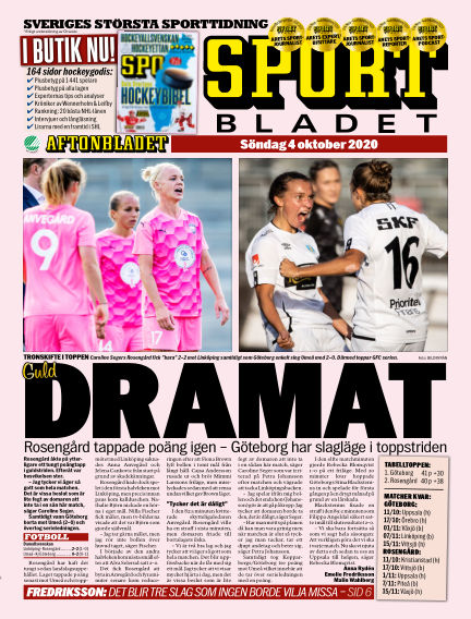 Sportbladet October 04, 2020 00:00