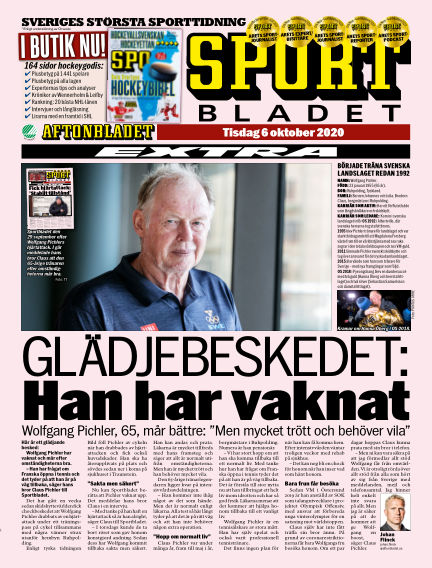 Sportbladet October 06, 2020 00:00