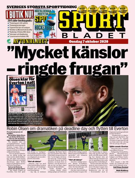Sportbladet October 07, 2020 00:00