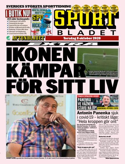 Sportbladet October 08, 2020 00:00