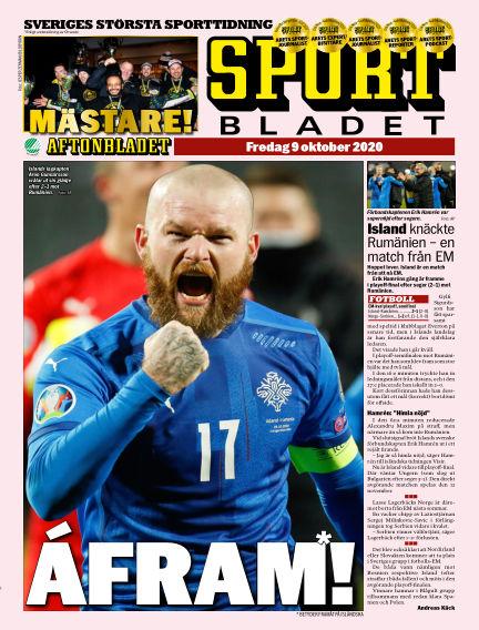 Sportbladet October 09, 2020 00:00