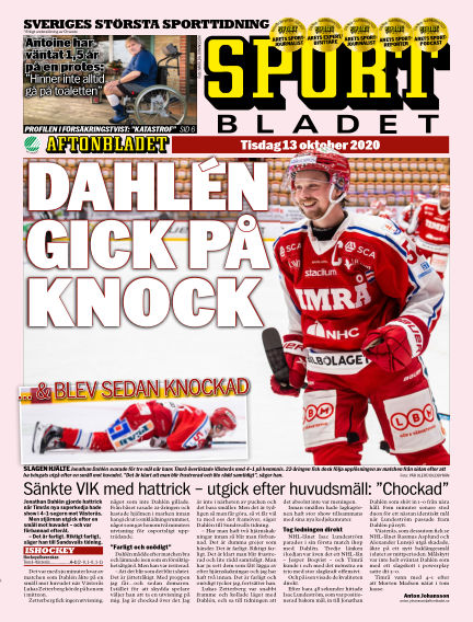 Sportbladet October 13, 2020 00:00