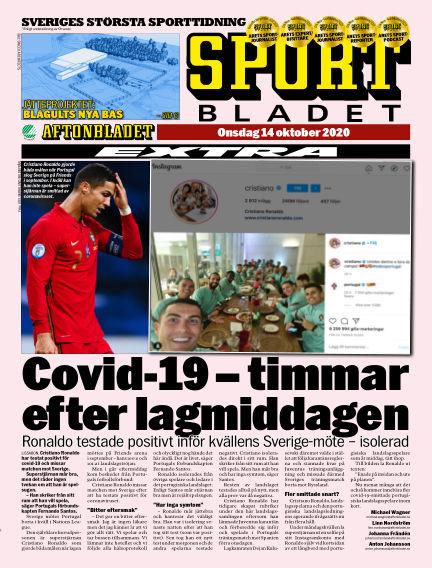 Sportbladet October 14, 2020 00:00