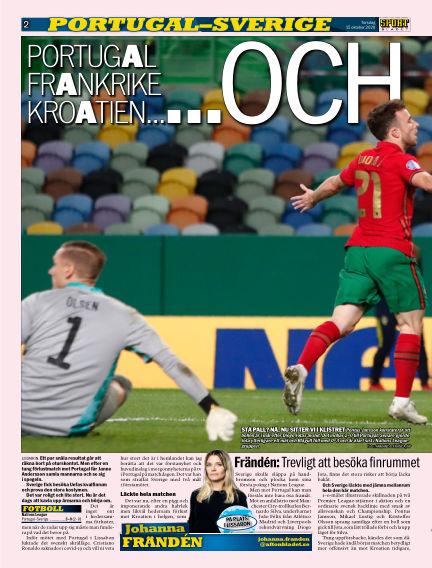 Sportbladet October 15, 2020 00:00