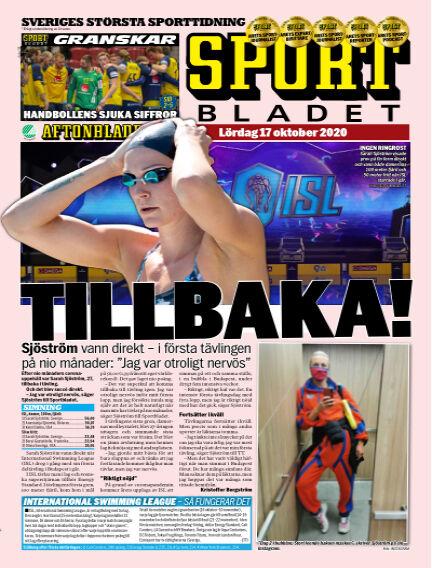 Sportbladet October 17, 2020 00:00
