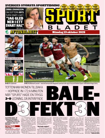 Sportbladet October 19, 2020 00:00