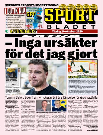 Sportbladet October 20, 2020 00:00