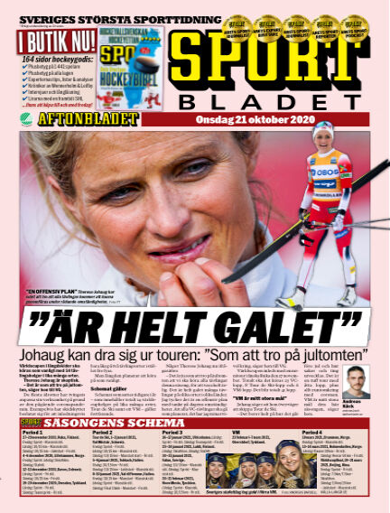 Sportbladet October 21, 2020 00:00