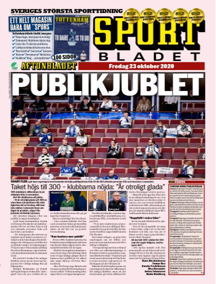 Sportbladet October 23, 2020 00:00