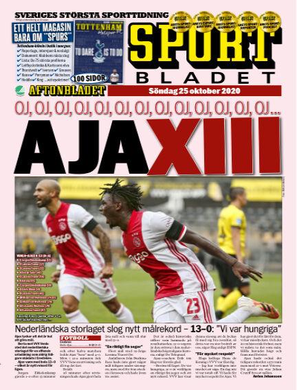 Sportbladet October 25, 2020 00:00