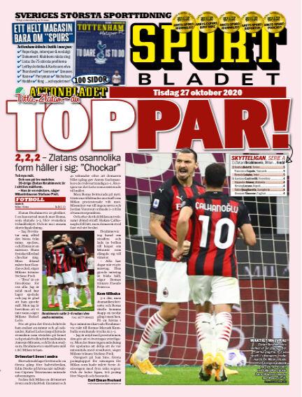 Sportbladet October 27, 2020 00:00