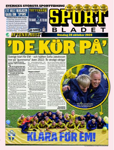 Sportbladet October 28, 2020 00:00